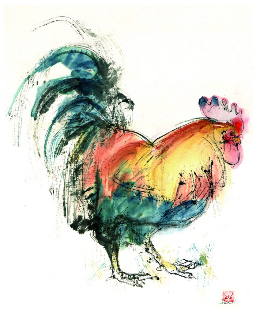 July rooster