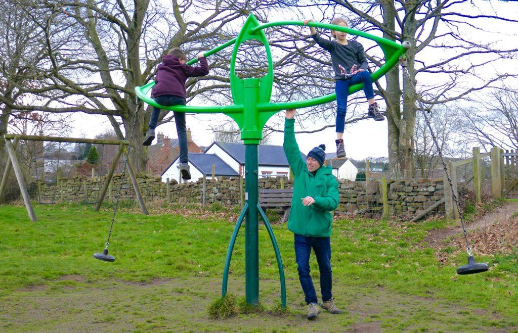 Half term Lazonby playground fun